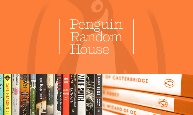 Examples of the Penguin Random House Canada website