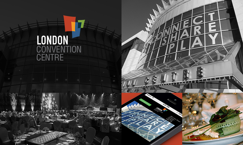Images representing the London Convention Centre