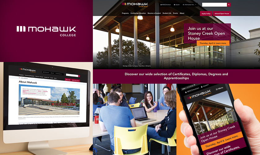 Images representing Mohawk College.