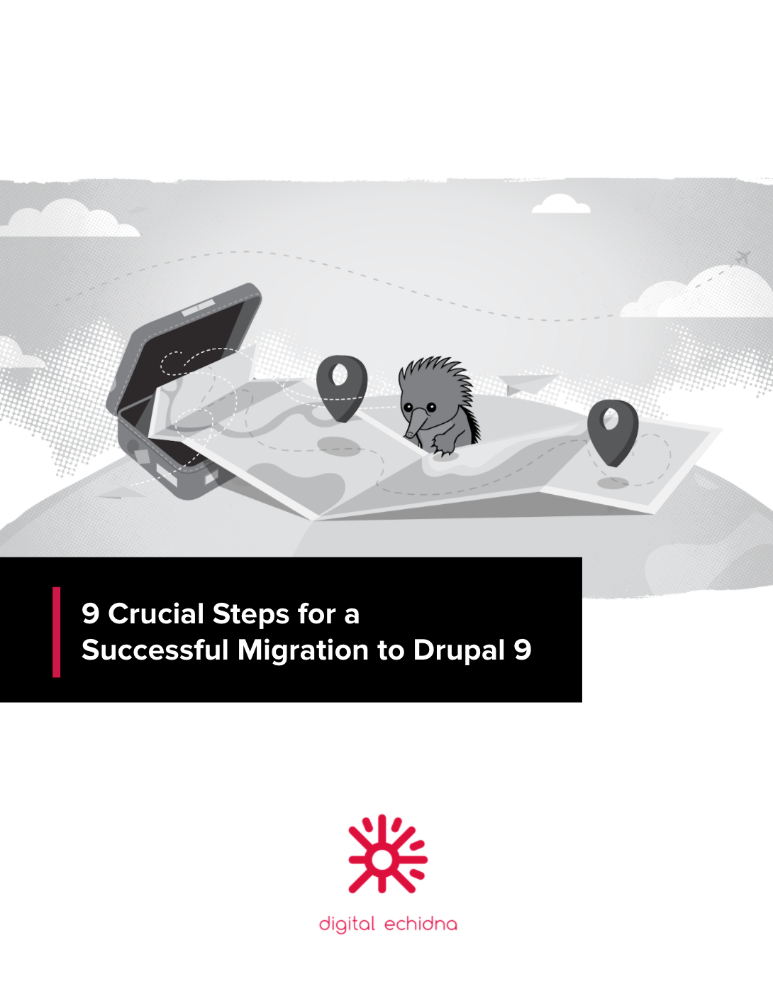 Title page of Drupal 9 eBook