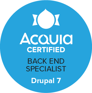 backend specialist 7 badge